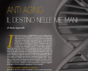 ANTI-AGING: IL DESTINO NELLE MIE MANI